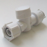 Concealed Cistern Push Fit Service Valve 1/2 x 15mm - 08001112